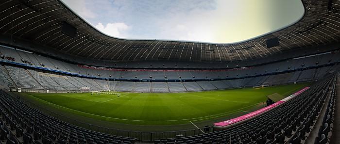 Allianz-Arena in München (joeborg / Shutterstock.com)